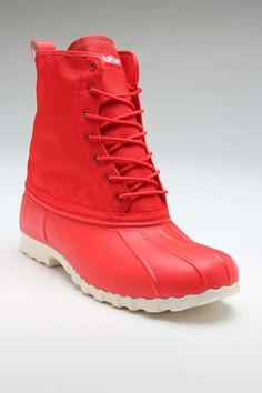 NATIVE JIMMY BOOT TORCH RED