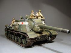 ISU-152 Self propelled gun