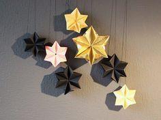 DIY-Anleitung: Kleinen Stern für Weihnachten falten via DaWanda.com