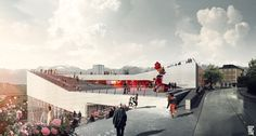 All sizes | 3XN - Molde, NO - Museum | Flickr - Photo Sharing!