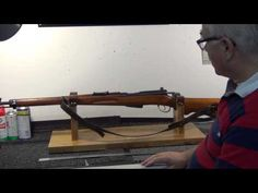Quick look: Homemade rifle cleaning stand