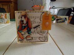 Muziekmaken met de hond