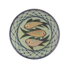 Lars Dybdahl Denmark Fish Ceramic Wall Plaque Danish Modern Mid-Century Modern #DanishModern #LarsDybdahl