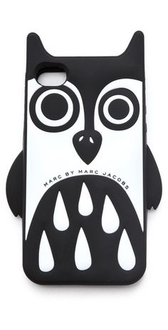 Owl-shaped Marc by Marc Jacobs iPhone case has petite wings and ears