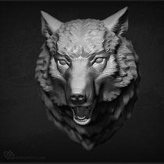 wolf-head-3d-sculpture-01.jpg (800×800)