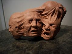 Interesting piece of art.  To some, this is eerily reminiscent of the pain associated with migraines.
