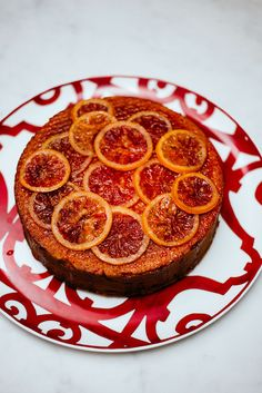 Blood Orange Campari Cake - The Taste Edit
