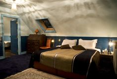 Relaxed atmosphere in the Moroccan suite, Ballinacurra House room