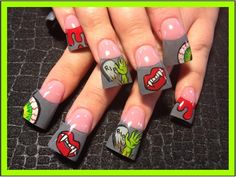 Its Alive!!! - Nail Art Gallery