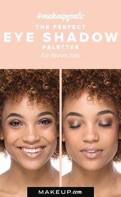 Brown eyes are a thing of beauty and we have found the perfect eye shadow palette to make them pop! If you're a brown-eyed girl, you have to see the eye makeup tutorial and palette that's designed just for you.