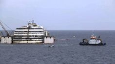 Costa Concordia Refloating - Day 1 Time-Lapse