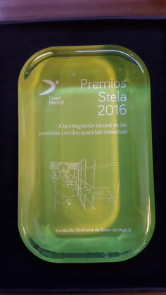 Por tercer año... hemos recogido uno de los #PremiosStela2016