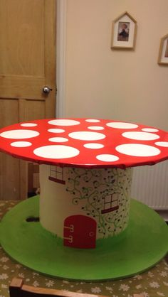 Eyfs toadstool cable reel