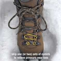 Lacing Your Hiking Boots for Kilimanjaro - Kilimanjaro Hiking Tips, Camping And Hiking, Camping Survival, Hiking Gear, Hiking Backpack, Survival Gear, Camping Hacks, Hiking Boots, Backpacking List