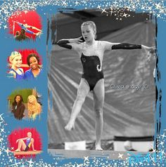 Nice Photo Collage Of Olivia Holt With Gabby Douglas April 16, 2013