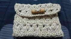 My 7th purse crocheted wiyh twine..Aid present for my sis.