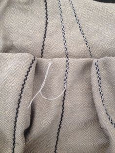 Double herringbone/favorite seam stitch