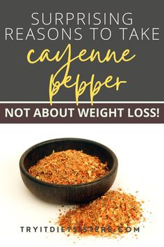 4 things about cayenne pepper that changed my life. I took cayenne pepper every day for a year - benefits of cayenne. If you are looking for cayenne pepper benefits natural remedies, check out these cayenne pepper recipes and detox drinks. Stop getting sick and prevent heart attacks with cayenne pepper. For tips to use cayenne pepper, apple cider vinegar and lemon water, check out this post. See more at tryitdietsisters.com. Help Me Lose Weight, Diet Plans To Lose Weight Fast, Lose Weight At Home, How To Lose Weight Fast, Cayenne Pepper Recipes, Cayenne Peppers, Healthy Eating Habits, Healthy Lifestyle Tips, Pepper Benefits