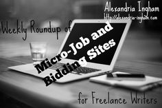 It's the end of another week, and time for another weekly roundup of my blog posts. This week I focused on micro-job sites and bidding websites, including Fiverr, Freelancer and PeoplePerHour. #ultrablog #blogboost