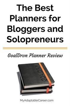 The GoalDrvn planner is a great option for anyone who needs a clear system and plenty of structure to help her reach her goals. How To Start A Blog, How To Make Money, Business Funding, Best Planners, Motivation, Happy Planner, Time Management, Saving Tips, Planner Stickers
