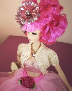 """Yes, now Barbie can be a fashion icon! Pamela Thompson, former Head Fashion Designer at Betsey Johnson, Heatherette and Designer for Anna Sui, coined most recently """"the Sartorialist of Barbie"""" has launched her own online store of fashion centric resale Barbie clothing and accessories called Tiny Frock Shop."""