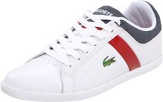 Lacoste Men's Evershot NT Sneaker,White,12 M US Material: Leather. Occasion: Casual.  #Lacoste #Shoes