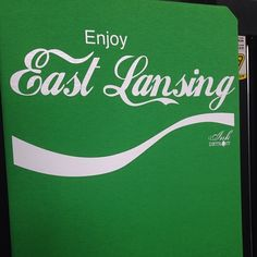 """Enjoy East Lansing"" available at InkDetroit.com"