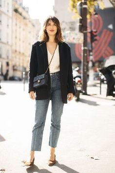 We already know what he keeps in his autumn wardrobe Jeanne Damas Jeanne Damas, Paris Outfits, Fashion Outfits, Paris Spring Outfit, Fashion Ideas, Stylish Outfits, Spring Outfits, Winter Outfits, Cool Outfits