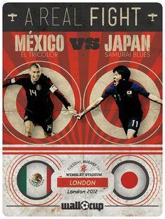 #Mexico #Japon #ARealFight #London2012 #Olympics #Football #Soccer #ElTri
