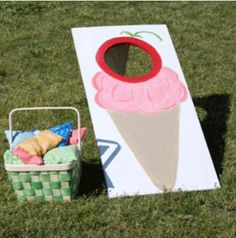 Whet up the appetite for ice-cream by having your guests play these creative ice cream party games before serving ice-cream at an ice cream party. Ice Cream Party, Ice Cream Games, 4th Birthday Parties, 3rd Birthday, Birthday Ideas, Turtle Birthday, Turtle Party, Summer Birthday, Carnival Birthday