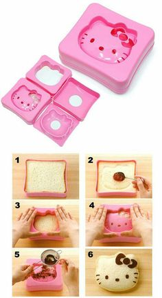 Hello Kitty sandwich press!