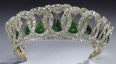 "The ""Vladimir Tiara"" that was a favorite piece of Queen Mary, was inherited by Her Majesty Queen Elizabeth II"