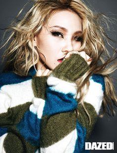 #2NE1 CL | DAZED AND CONFUSED MAGAZINE NOVEMBER '14 ISSUE