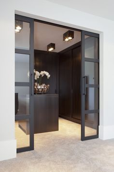 14 Walk In Closet Designs For Luxury Homes House Design, House, Home, Walk In Closet Design, House Styles, Doors Interior, House Interior, Closet Designs, Dressing Room Design