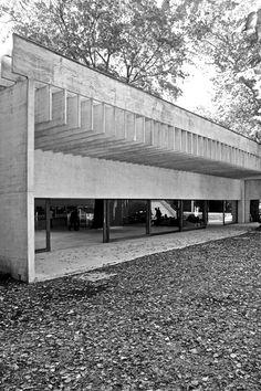 Nordic Pavillon at the Venice Biennale by Sverre Fehn