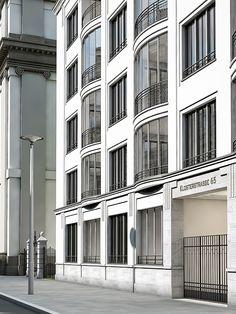 KLOSTERSTRASSE 65 - HILMER SATTLER ARCHITEKTEN New Classical Architecture, China Architecture, Classic Architecture, Facade Architecture, Residential Architecture, Contemporary Architecture, Classic Window, Facade House, Window Design