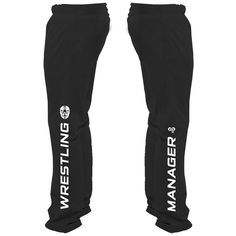 Wrestling Manager Sweatpants