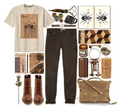 """the naturalist."" by cauchemar-exquis ❤ liked on Polyvore"