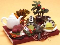 Miniature sweets kit Geishun 3211 Billy handmade dollhouse kit 12 months (japan import) by Billy