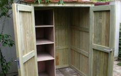 The Garden Trellis Company -Garden Storage Idea