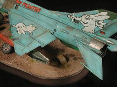 MiG-21MF 1/48 Scale Model Diorama
