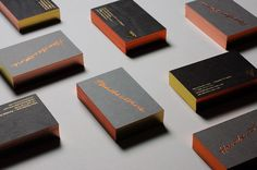 J.H. | Visual identity & business cards on Branding Served