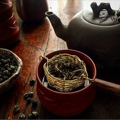 Jasmine Pearl Green Tea by Laurie Leahy