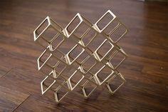 Ghostcubes: A Dazzling System of Interlocking Wooden Cubes by Erik Åberg