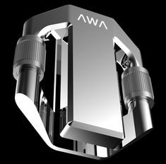 AWA Sport Sensor designed by Jerome Olivet - AWA makes it possible to record and compare physical data from almost any of your favorite sports. Composed of aerospace-grade aluminum alloy, it can be attached to anything from a shoe to a fencing sabre and is lightweight enough that the user won't even notice it.   Yanko Design