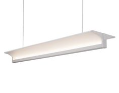 LD12945-WH - LED Linear Pendant with Up Light
