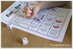 The Moffatt Girls: Interactive Math Packet (Subtraction up to 20)