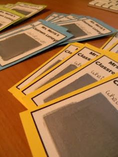 """DIY scratch off """"lottery tickets"""" as student incentives inspired by another blogger.  So cute!"""