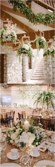 Wedding Trend: Greenery Wedding Color Ideas #green #greenwedding