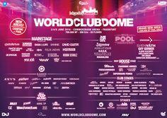 BigCityBeats WORLD CLUB DOME 2016 – Electronic Music Festival – Commerzbank-Arena Frankfurt am Main